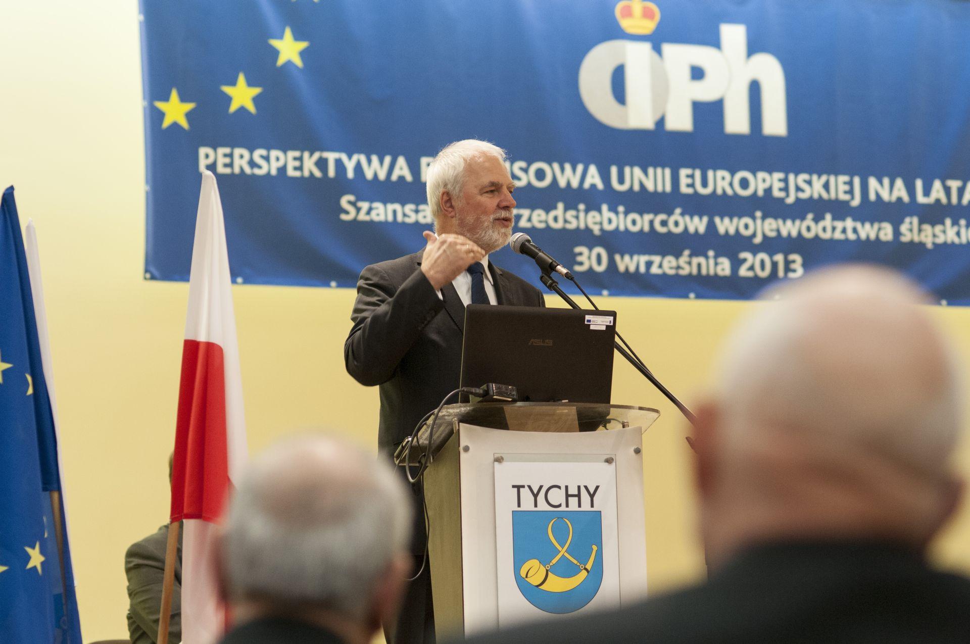 """Konferencja """"Perspektywa finansowa Unii Europejskiej na lata 2014-2020"""""""
