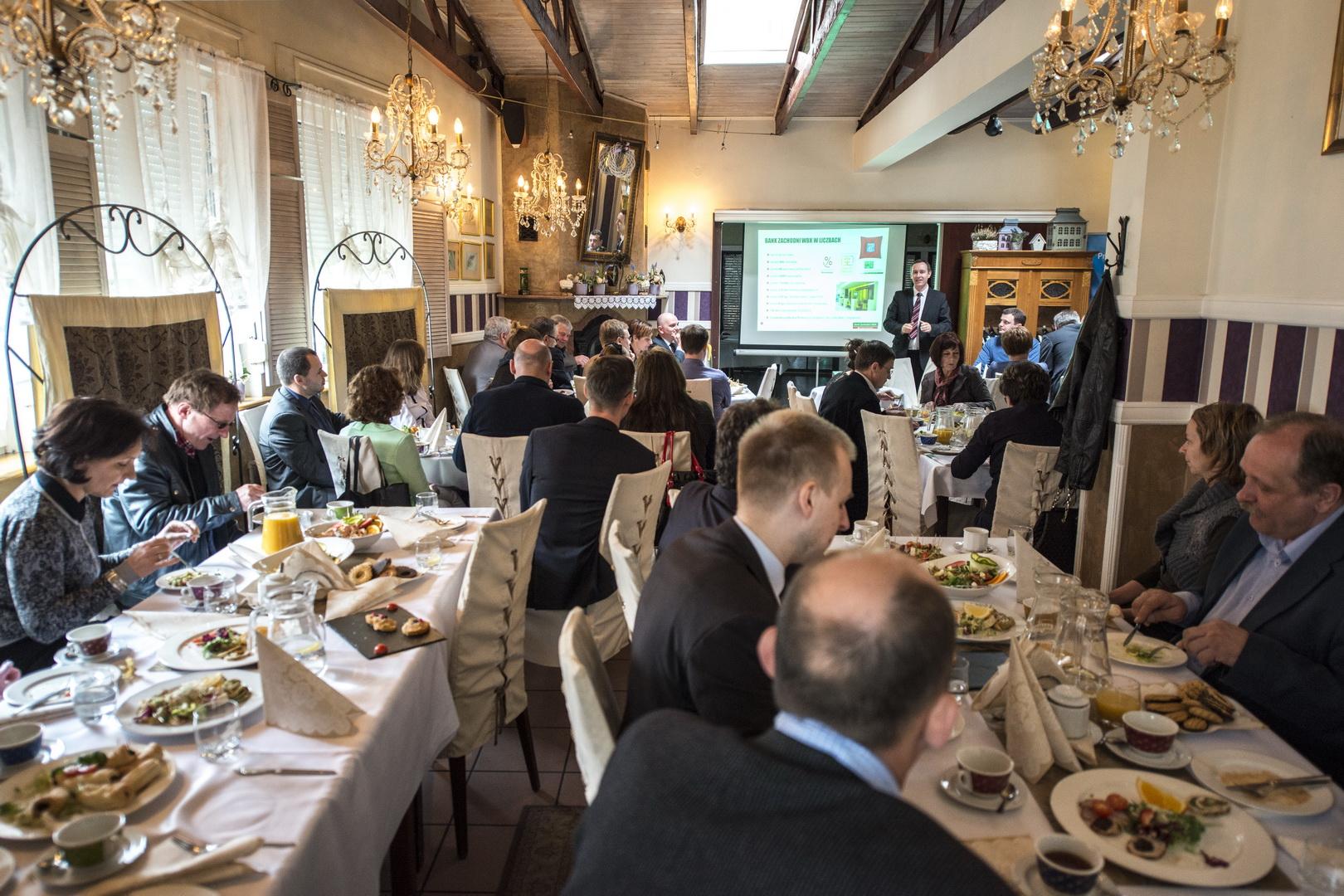 Śniadanie izbowe nt. funduszy unijnych