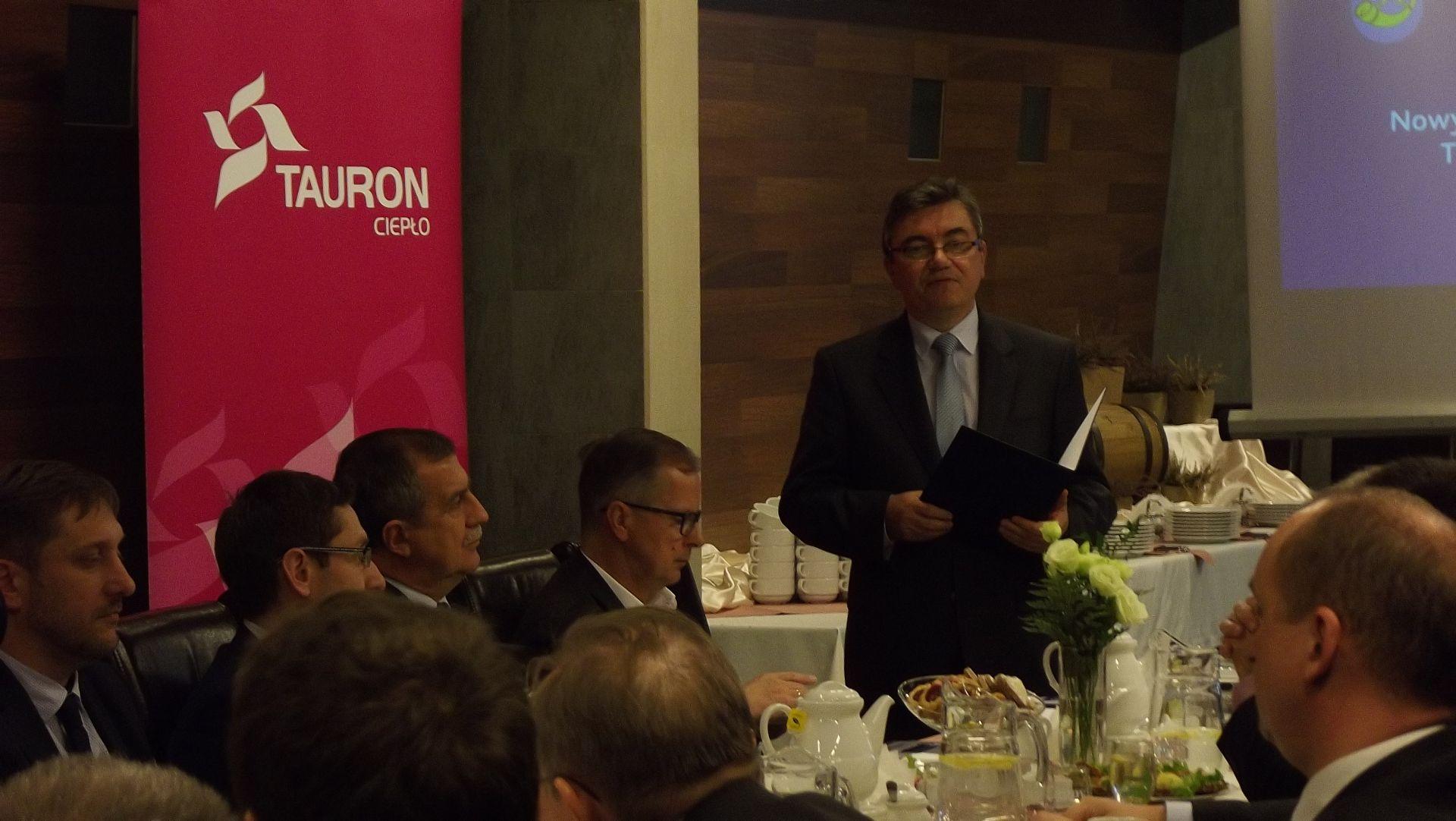 Konferencja energetyczna TAURON Ciepło