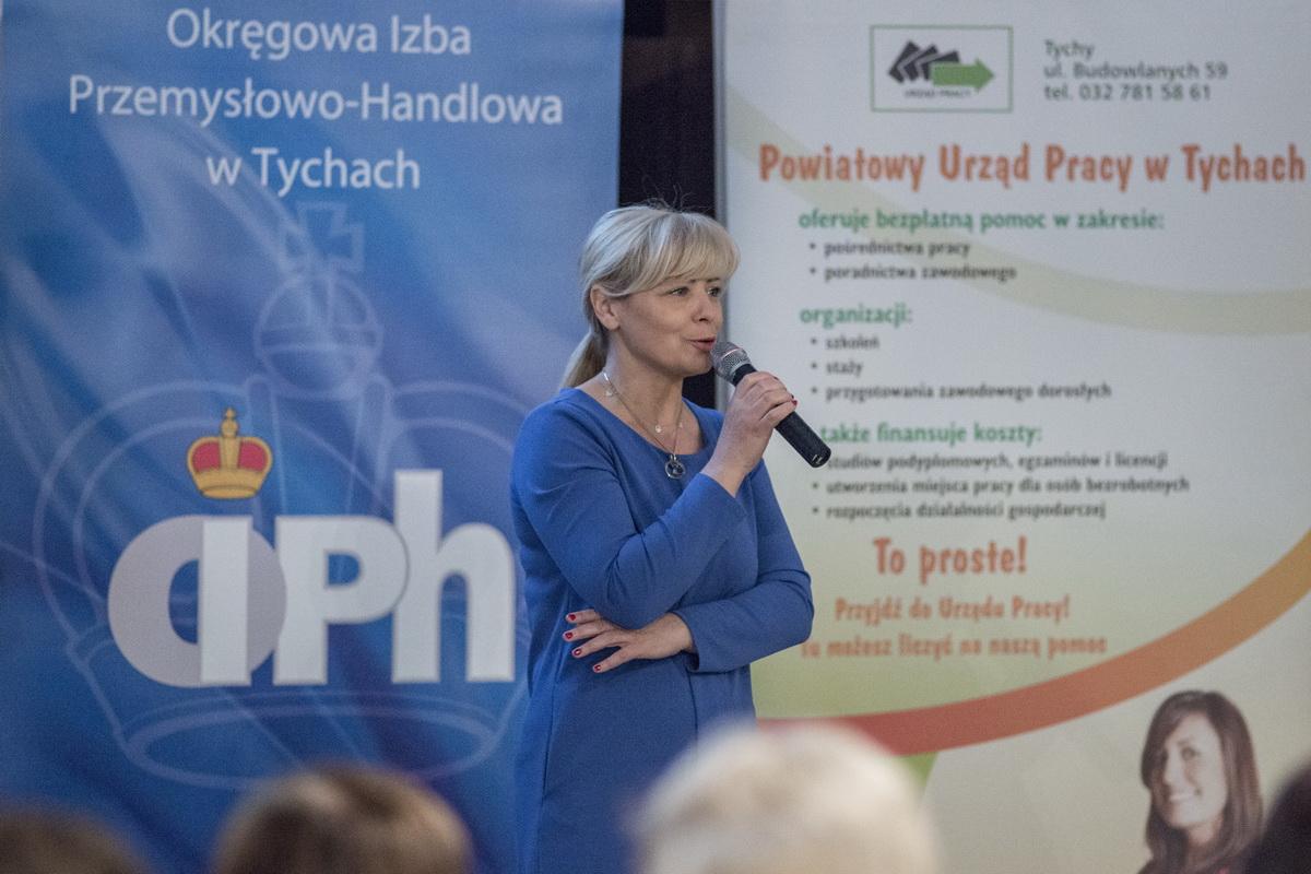 """Konferencja """"Szansa na rozwój"""" w ramach Europejskich Dni Pracodawcy w Tychach"""