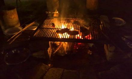 """Spotkanie przy ognisku w Restauracji """"Pod Napięciem"""""""