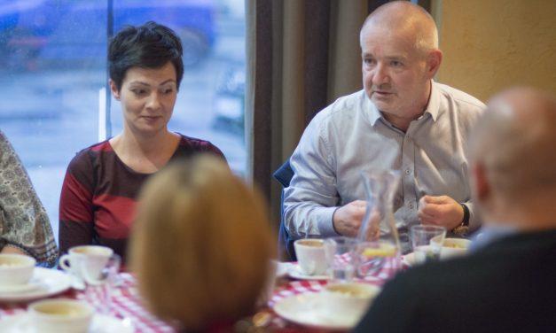 Spotkanie Klubu Młodych Przedsiębiorców w restauracji Osteria le botti
